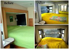 See tips and photos from five gorgeous fifth wheel remodels. RV renovations include upgrades and modifications to cabinets, walls, furniture and flooring.