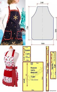 Sewing Tips And Tricks - Her Crochet Clothing Patterns, Sewing Patterns, Jean Apron, Japanese Apron, Linen Apron, Sewing Lessons, Sewing Tips, Sewing Aprons, Couture Sewing