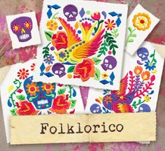 Folk Embroidery Patterns Mix, match, and arrange the Folklorico designs to create big, bold embroidery inspired by Mexican folk art! Embroidery Hoop Crafts, Mexican Embroidery, Hungarian Embroidery, Machine Embroidery Projects, Folk Embroidery, Embroidery Patterns, Quilt Patterns, Butterfly Embroidery, Creative Embroidery