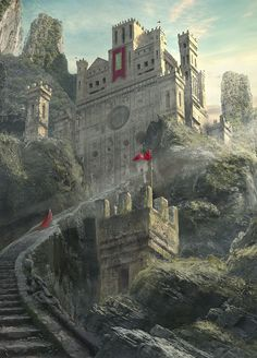 Castle, Alex Guinness on ArtStation at https://www.artstation.com/artwork/zQPDm