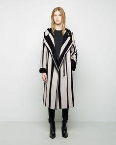 ACNE STUDIOS Tria Long Jacquard Coat