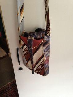 Mria Williams: More silk tie bags 2