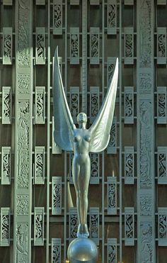 Waldorf Astoria Hotel NYC, 1931: An Art Deco Icon | Art Deco Lovers/ Spirit of Achievement by Nina Samundsson