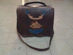 Messenger Bag, 100% Leather