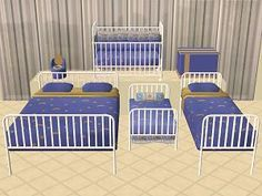 Mod The Sims - The Kinder Beds - Maxis Add-Ons