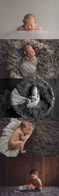 5 day old baby girl Elodie | Des Moines, Iowa newborn photographer, Darcy Milder | His & Hers
