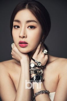 """www.bekanbell.com - [actor / 강소라 /bnt pictorial] Elegant and Feminine timepieces from Germany """"Butterfly on your wrist"""" #watch #germany #bekanbell #celebrity #fashion #bnt"""