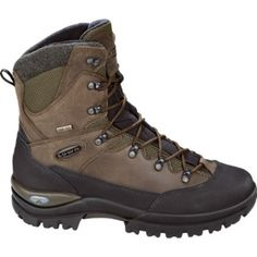 Mens Lowa Creek Hiking Boots Brown Leather - ONLY $189.95
