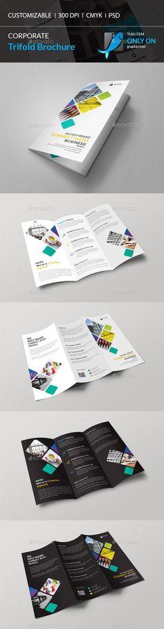 Printable Tri Fold Brochure Template Fashion Look Book 4Fold Brochure Template Psd  Download Https .