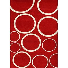 @Overstock - Create a look that will draw attention all year-round with this abstract red wool rug. The geometric beige circles add a fun touch to the bright red background, and it features soft New Zealand blend wool.           http://www.overstock.com/Home-Garden/Alliyah-Handmade-New-Zeeland-Blend-Red-Wool-Rug-5-x-8/6213056/product.html?CID=214117 $148.74
