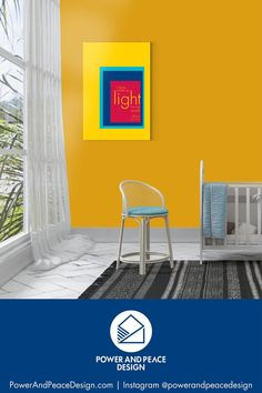 Be reminded of the light Jesus gives us with this primary colors Christian canvas. The bold color combinations in this modern Scripture wall art will add life to any room in your home -- including your child's. I have come as light into the world. –Jesus [John 12:46] #primarycolors #yellow #yellownursery #Jesus #Christian #John #John12