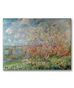 Love this Monet Spring 1880 Wall Art by  on #zulily! #zulilyfinds
