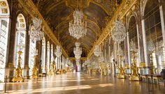 Salão dos espelhos, Palácio de Versalhes.