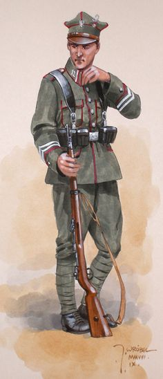 WP 1914-1920 w rysunkach J. Wróbla - zdjęcia, foto galerie, fotki, zdjęcie