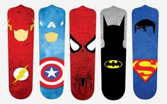 Super Hero Fan Blades by SlingshotCreative on Etsy