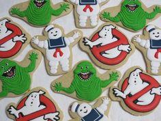 Ghostbusters Sugar Cookies