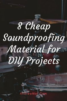 Cheap Soundproofing Material ( Best for DIY Soundproofing Projects) Soundproofing Walls, Soundproof Windows, Soundproofing Material, Recording Studio Home, Recording Booth, Music Studio Room, Studio Setup, Drum Room, Gaming Station