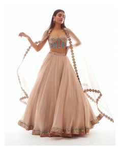 Indian Party Wear, Indian Wedding Outfits, Indian Outfits, Mode Bollywood, Bollywood Fashion, Indian Lehenga, Lehenga Designs, Indian Designer Outfits, Designer Dresses