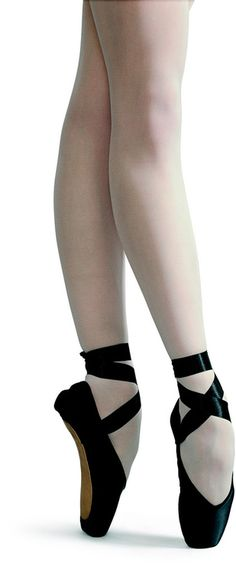 Im not a ballerina but I am a dancer in lyrical hip-hop, I think these black pointe shoes are just beautiful