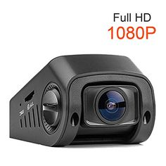 """Lecmal Full HD 1080P Car Dash Cam Camera & DVR G-Sensor 1.5"""" Stealth Dashboard Night Vision Motion Detection Up to 32GB micro SD card(not include), Mini Video Camera - 170°Super Wide 30fps"""