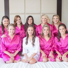 satin bridesmaid wedding robes