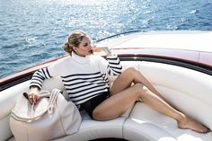 Olivia Palermo Wears Your Dream Vacation Outfits in This New Campaign via @WhoWhatWear