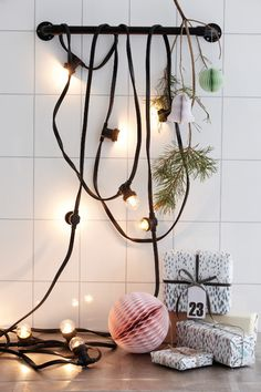 Brighten your decor. #light #diy