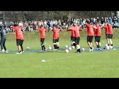 German Soccer Club - Eintracht Frankfurt Training