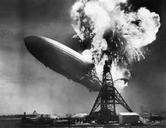 Image detail for -The Hindenburg exploded in flames above Lakehurst, New Jersey, on May ...