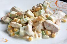 insalata di pollo e avocado