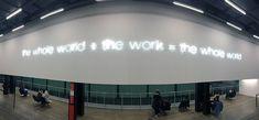 Interior del Tate Modern en Londres.