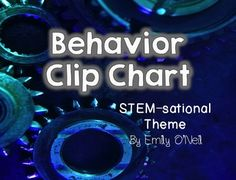 """A great addition to your STEM-themed classroom. This behavior clip chart will help you to manage your class with ease. The categories include """"STEM-sational Student,"""" """"Great Job,"""" """"Good Choices,"""" """"Ready to Learn,"""" """"Think About It,"""" """"Teacher's Choice,"""" and """"Parent Contact."""""""