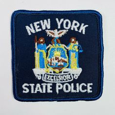 Police Lives Matter, Police Life, Patches For Sale, Police Patches, State Police, Sheriff, Law Enforcement, New York, The Unit