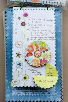 Flower techniques - Leuk en handig, een boekje met alle bloemetjes die je kunt maken en hun beschrijving