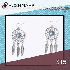 Beautiful Silver Dream Catcher Earrings - NWT! Beautiful Silver Dream Catcher Earrings - NWT! Jewelry Earrings