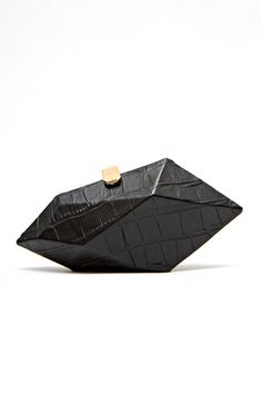 faceted clutch