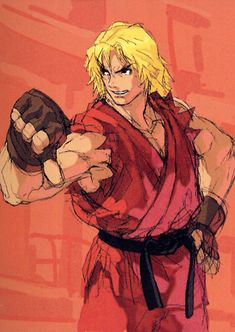 """American Fighter."" Ken by Daigo Ikeno."