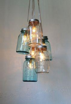 Alternative lighting #home project             #diy
