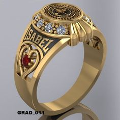 Anillos De Graduacion Ring Bracelet, Bracelet Watch, Mens Gemstone Rings, Italian Chic, Jewelry Box, Jewelery, Gents Ring, Gold Chains For Men, Gold And Silver Rings