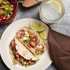 - Heart-Healthy Mexican Recipes Carne Asada Tacos From Healthy Mexican Recipes, Diet Recipes, Cooking Recipes, Recipies, Entree Recipes, Avocado Recipes, What's Cooking, Cookbook Recipes, Cooking Ideas