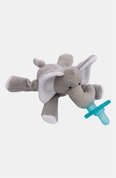 cute elephant pacifier toy
