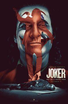Joker by James H Neal - Home of the Alternative Movie Poster -AMP- O Joker, Joker Film, Joker Art, Joker And Harley, Best Movie Posters, Cinema Posters, Movie Poster Art, Joker Iphone Wallpaper, Joker Wallpapers