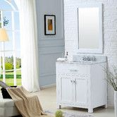 "Found it at Wayfair - Creighton 30"" Single Bathroom Vanity Set with Mirror"