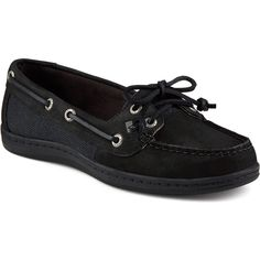 Sperry Women's Firefish Core ($89) ❤ liked on Polyvore featuring shoes, apparel & accessories shoes, laced shoes, sport shoes, leather deck shoes, fleece-lined shoes and topsider shoes