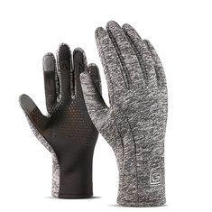 Mens Women Sports Velvet Waterproof Gloves Outdoor Riding Touch Screen Ski Climbing Gloves