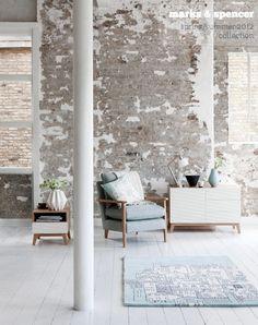 raw walls