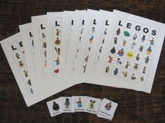 Free printable Lego bingo game.