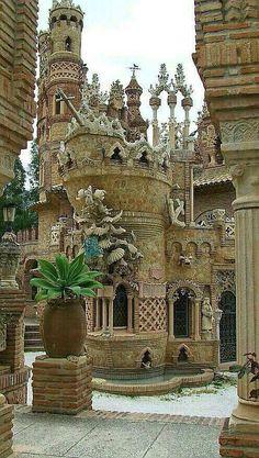 Castle of Colomares. Benalmadena Spain