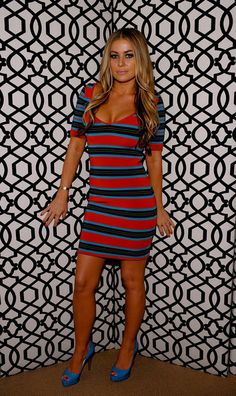 Carmen Electra Photos - Carmen Electra attends the Mercedes-Benz Fashion Week Spring 2011 Official Coverage at Lincoln Center on September 2010 in New York City. - MBFW Spring 2011 - Official Coverage - People and Atmosphere Day 3 Carmen Electra Hair, Mercedes Benz, Gwen Stefani, Christina Aguilera, Woman Crush, Gorgeous Hair, Celebrity Style, Sexy Women, Bodycon Dress