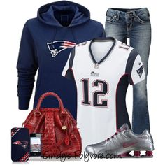 This would work for my sons football season they are the patriots lol